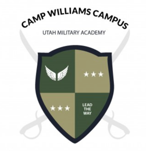 Utah Military Camp Williams school logo