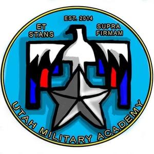 Utah Military Hillfield school logo
